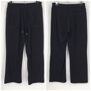 Athleta Pants Cozy Soho Sweatpant Solid Black